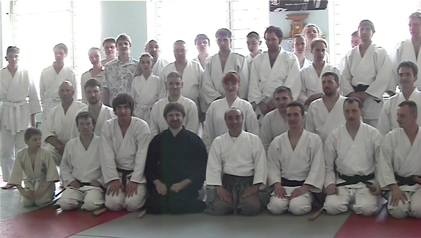 Kiev Iaido seminar 1