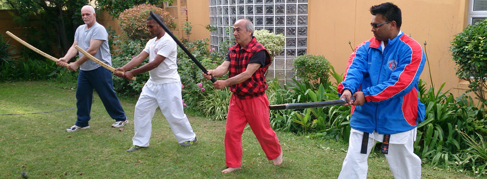 <blockquote><h3>Katana</h3>Swordsmanship</blockquote>