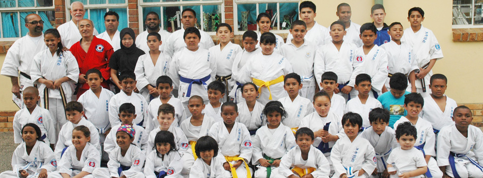 <blockquote><h3>Cape Town</h3>training at Ashihara Karate</blockquote>